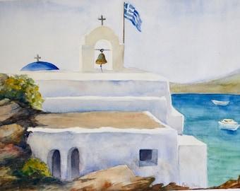 Greek Paradise Print