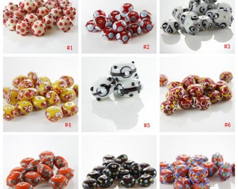 Limited Edition Lampwork Glass Beads-Beading