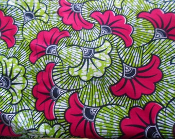 Little coupon of African fabric, real wax coupon