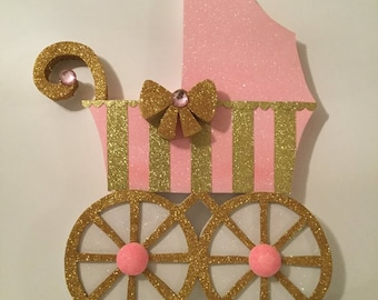 Baby carriage props