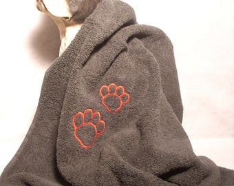 Customize it for your dog towel