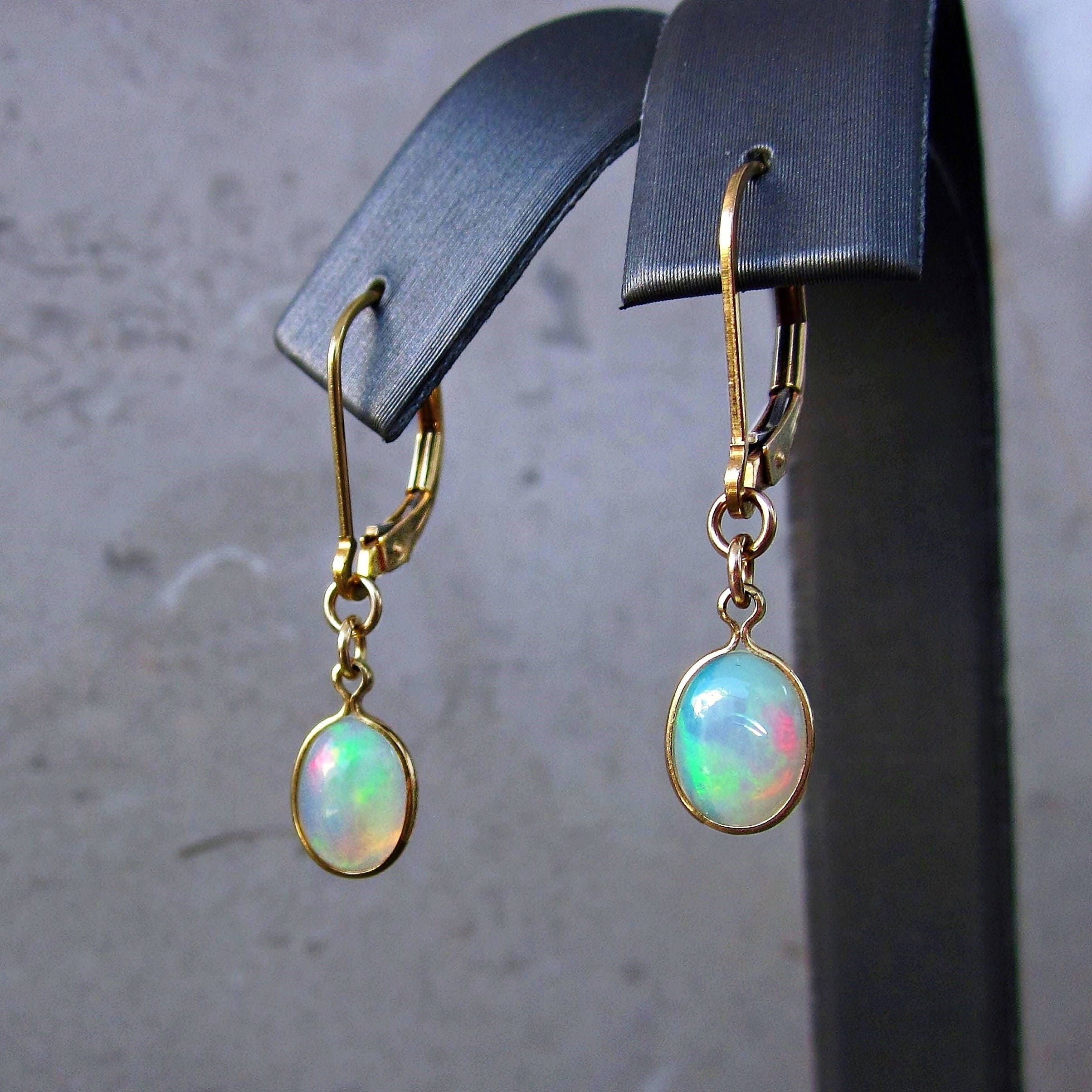 genuine sea opal product sterling earrings green jewelry butterfly wing silver am real the into