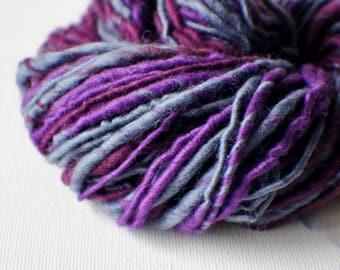 SALE: Bulky handspun yarn, Thick and Thin Yarn, Art Yarn, knitting supplies crochet supplies, scrapbooking