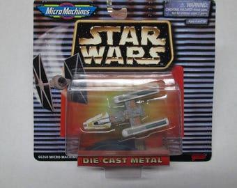 1996-97 Star Wars Y-Wing Starfighter Micro Machines MIB Die Cast Metal Galoob 66260