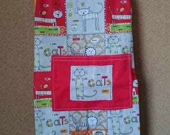 Apron for kids - cats