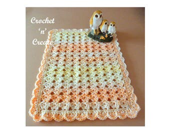 Table Centre Mat Crochet Pattern (DOWNLOAD) CNC33