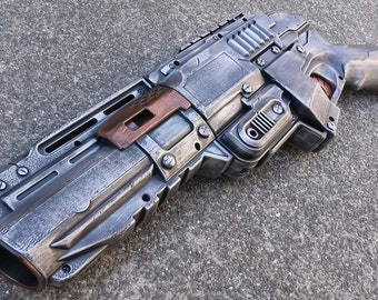 NOT FOR SALE Nerf Zombie Strike Sledgefire Pistol Mod- Apocalyptic, Zombie,  Vampire,