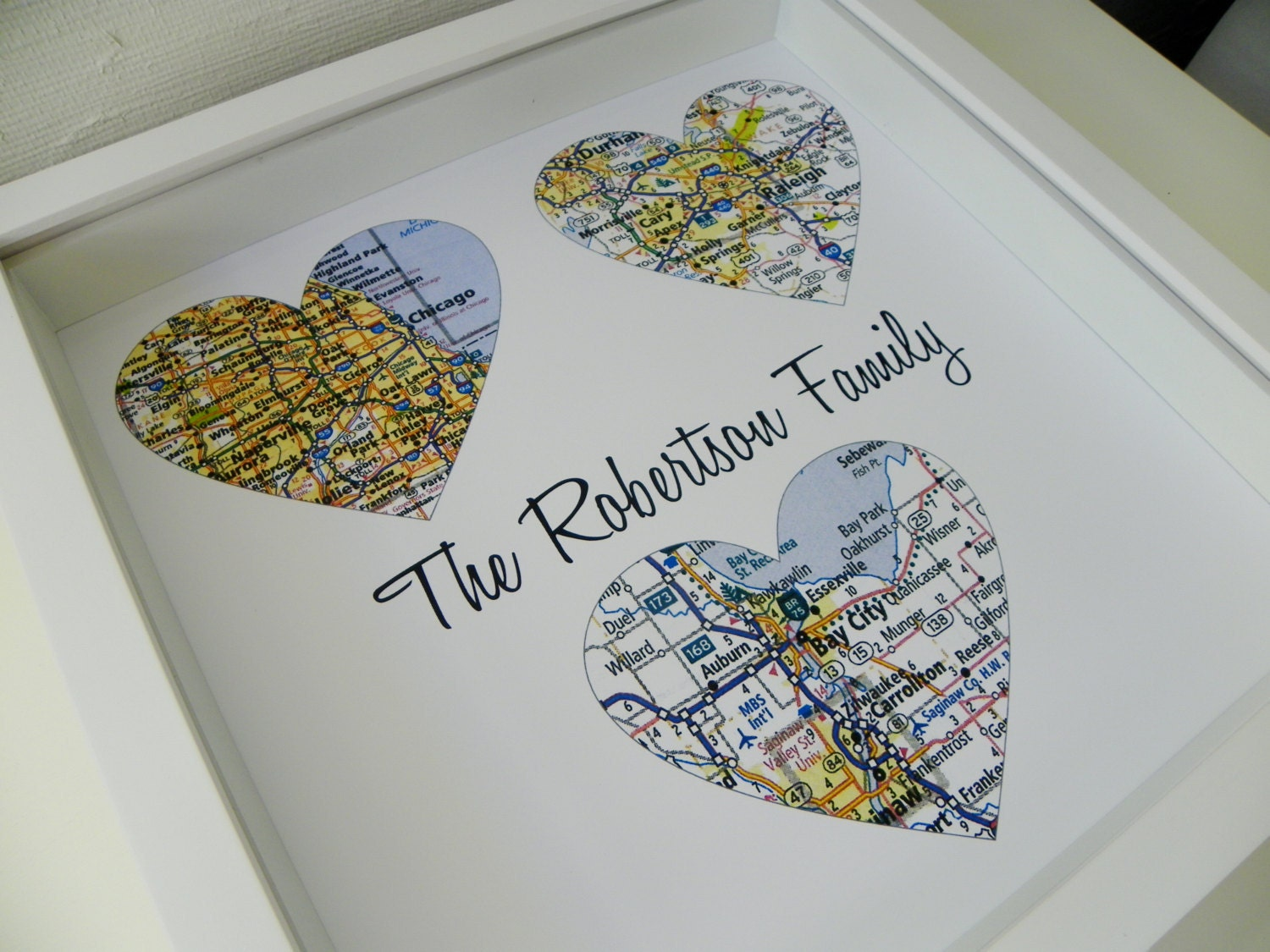 Wedding gifts for parents personalized map art parents wedding zoom junglespirit Images
