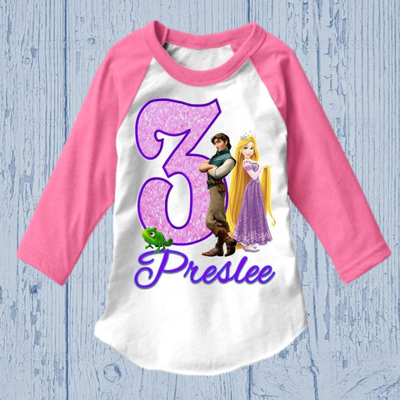 Rapunzel Birthday Shirt Tangled Tank Top