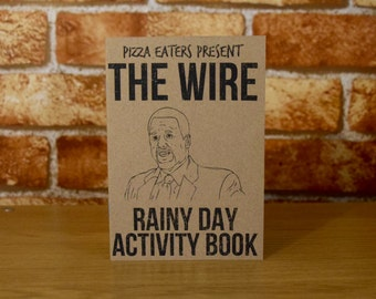 The Wire Rainy Day Colouring & Activity Book