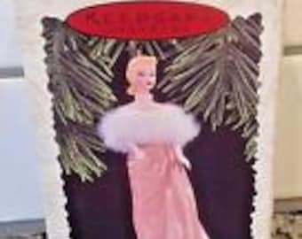 Vintage Barbie Enchanted Evening 1996 Ornament NRFB.  Box in mint condition.