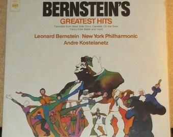 Bernstein's Greatest Hits Andre Kostelanetz Sealed Vinyl Classical Record Album