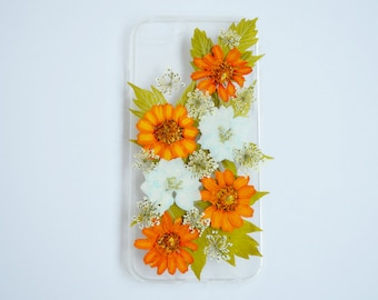 iphone 7 pressed flower case daisy iphone 8 case real flower iphone case phone case pressed flowers pressed flower phone case pressed flower