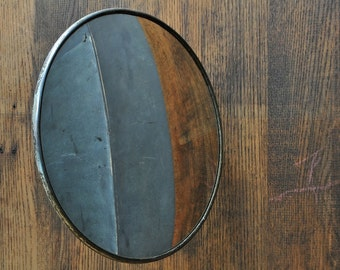 Anti Theft Wall Mirror Mid-Century Industrial Mercantile