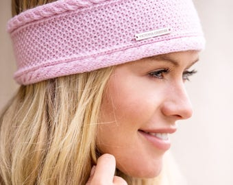 Ladies cashmere ear warmer / headband