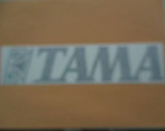 TAMA (drums) Vinyl Sticker in Black