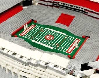 Alabama's Bryant-Denny Stadium, Brick model