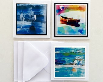 Mini Gift Cards & Envelopes Set of 3/Watercolour Cards
