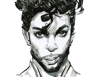 Prince #2 print by Shaunna Peterson