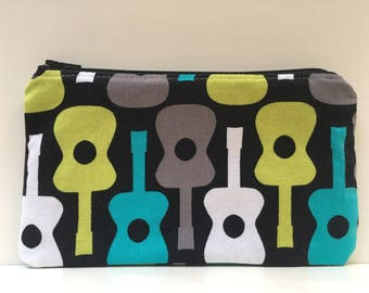 Reusable Snack Bag, Kid Snack Bag, Girl Snack Bag, Boy Snack Bag,  Guitar