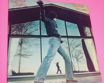 BILLY JOEL: Glass Houses - vinyl record album LP piano man music classic rock seventies 70s '70s 70's 1970s eighties '80s 80s 80's 1980s