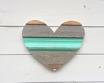 Reclaimed Wood Heart