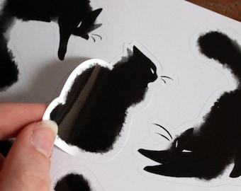 Cats stickers sheet