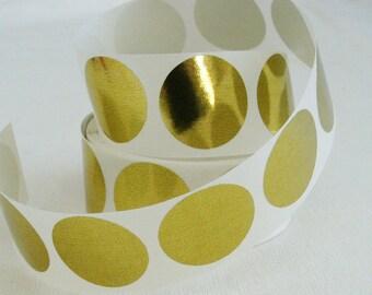 Gold StickersEnvelope Seals Gold Stickers 1 Inch Round 60 Invitation Round Labels