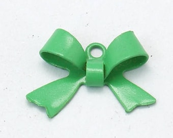 2 x 10 bow, green Sage 5x15mm connectors
