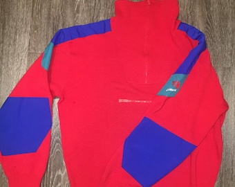 Vintage The NorthFace Extreme red fleece M-L