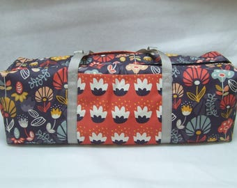 Carrying Case for a Cricut Explore Air, Air 2 / Silhouette Cameo 3 / Cricut Maker / Brother ScanNCut / Kaleidoscope Flower Bloom Print