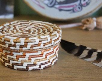 Northwest Native American Trinket Basket