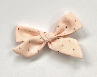Pink Poppy Bow