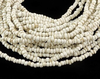 French Seed Trade Bead White 119522