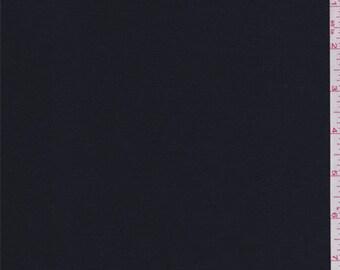 Midnight Navy Satin, Fabric By The Yard