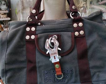 Bag George Gina Lucy bag gray woman fashion chic lady brand famous handle straps perfect handles
