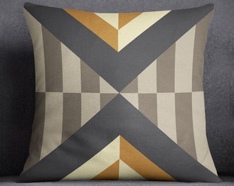 Modern Patterned Printed Decorative-Throw Pillow
