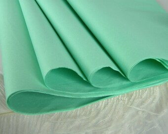 """Mint Green Tissue Paper Sheets 