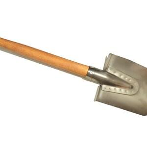 Titanium universal round-pointed shovel. Handmade! Very sharp!