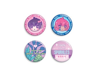 Variety Pin-Back Button Set 1