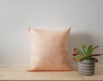Square Cushion cover 40 x 40 salmon pink