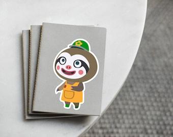 Animal Crossing Leif sticker -  Animal Crossing New Leaf, Leif, ACNL Gardening store