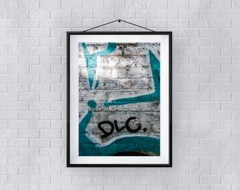 Chalky - Premium Quality – Wall Art - Giclée Print – Urban Art - Martin Sylvester - Sylvo81