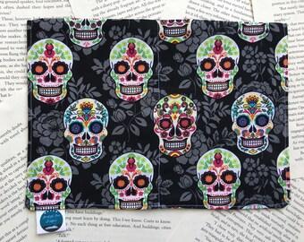 Medium Bag - Sugar Skull Cotton Pattern