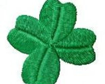Embroidery pattern - Clover leaf / Lucky clover