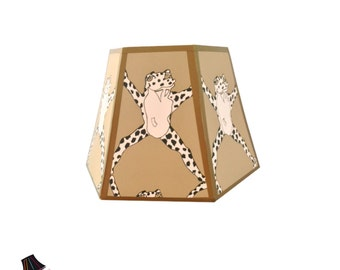 Frog Lamp Shade - Perfect for Animal Decor, Frog Decor, Frog Themed, Frogs, Unique Lamp Shades, Designer Lamp Shades