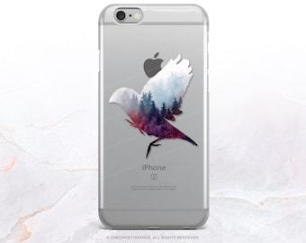 iPhone 8 Case iPhone X Case iPhone 7 Case Forest Bird Clear GRIP Rubber Case iPhone 7 Plus Clear Case iPhone SE Case Samsung S8 Case U131