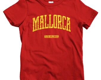 Kids Mallorca Spain T-shirt - Baby, Toddler, and Youth Sizes - Kids Tee, Gift, Mallorca Kids Shirt, Majorca España, Palma Beach, Spanish Kid