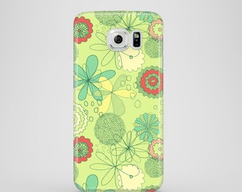 Spring Flowers phone case / floral design phone case / Samsung Galaxy S7 / Samsung Galaxy S6, Samsung Galaxy S6 Edge, Samsung Galaxy S5