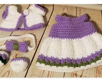 Pookie & Pals, Let's Play Dress Up Outfit, Crochet Pattern